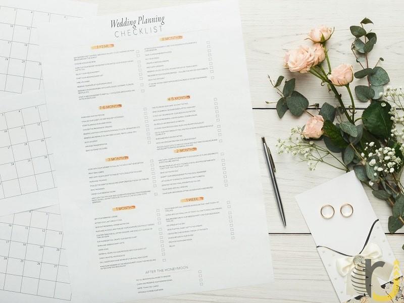 تنظیم قرارداد برای برنامه ریزی عروسی