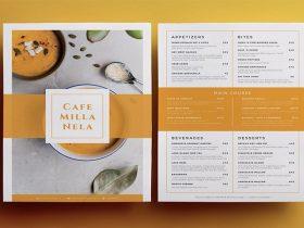 چگونه منو رستوران طراحی کنیم