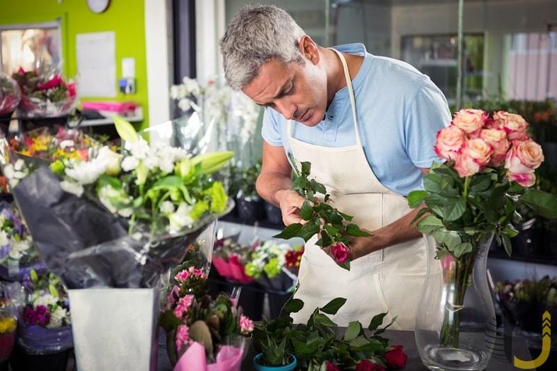 گل فروشی از بهترین شغل ها برای افراد افسرده است