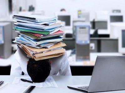 دلایل استرس کاری